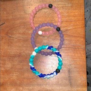 Lokai bracelet collection of 3